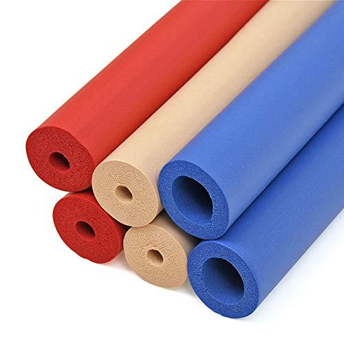 DMI Mabis Geschlossenzellige Schaumstoffrohre farblich sortiert 6 Stück