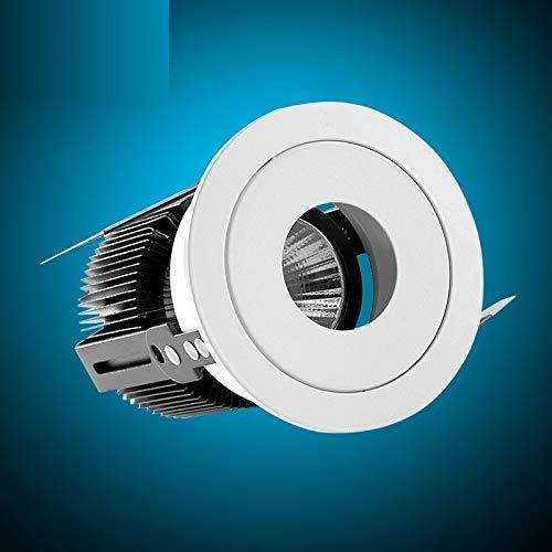 ZXL LED verzonken downlight-plafond eenvoudige moderne opslag woonkamer hotel-projectkoplamp, warm licht 15W