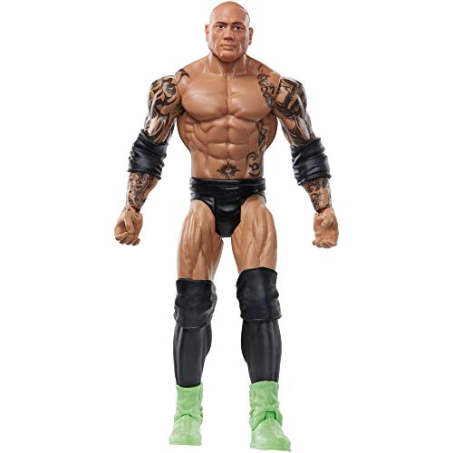 WWE Figura de Acción Luchador Batista (Mattel GKY58)