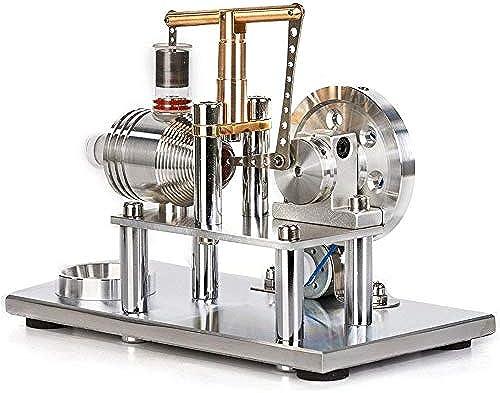 braunrolly Super stabile Hei ft Stirlingmotor Modell p gogische Physik Experiment Spielzeug, Stromgenerator Puzzle Spielzeug Kit für Kinder Erwachsene