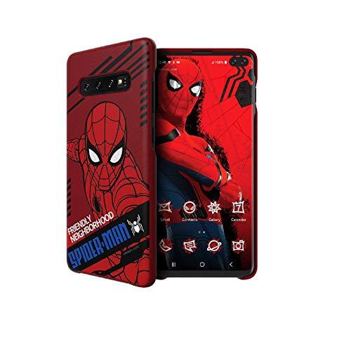 Samsung Carcasa para Galaxy S10 Plus, diseño de Spider-Man Galaxy Friends Far from Home Dynamic Edition