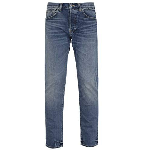 Edwin ED-80 Yoshiko Slim Fit 12.6OZ Blaue Natsumi Wash Denim Jeans