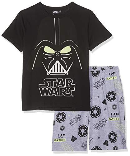Star Wars Jungen 5777 Zweiteiliger Schlafanzug, Schwarz, 152