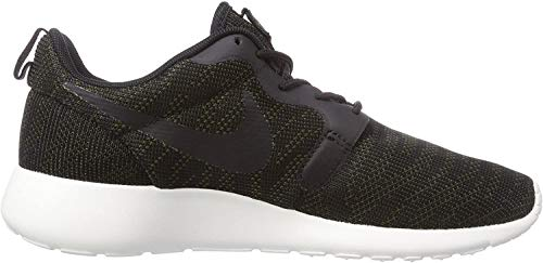 Nike Roshe Run 705217-300, Damen Low-Top Sneaker, Grün (Faded Olive/Schwarz-Sail 300), EU 38.5