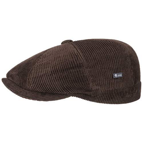 Lipodo 8 Panel Cord Flatcap Hombre   Gorra Plana algodón