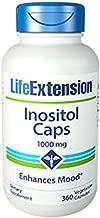 Inositol Caps 1000 mg, 360 Vegetarian Capsules-Pack-2