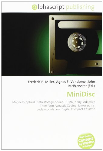 MiniDisc: Magneto-optical, Data storage device, Hi-MD, Sony, Adaptive Transform Acoustic Coding, Linear pulse code modulation, Digital Compact Cassette