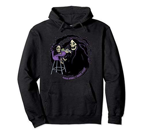 Pastel Goth Baby Grim Reaper Death Pullover Hoodie
