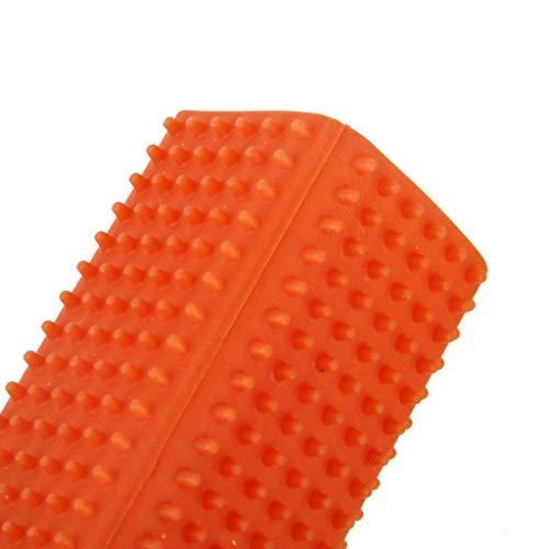 Fliyeong – 1 Paquete de Goma Hueca para Mascotas, Perros, Gatos, Muebles, alfombras, Ropa, sofás, Cepillo Limpiador de Colores, Suministros para Mascotas