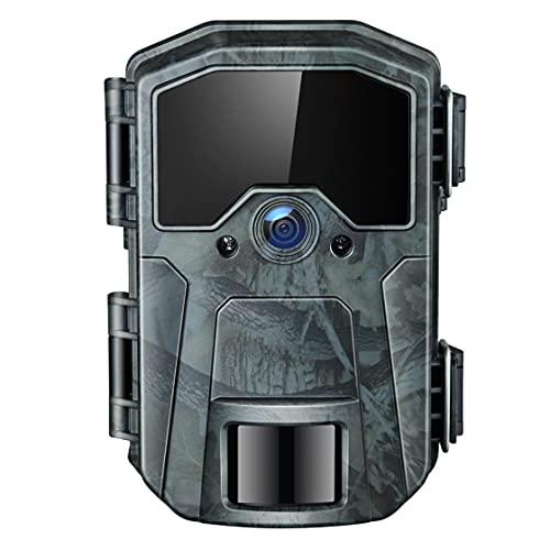 Wildkamera 20MP 1080P Infrarot-Nachtsicht Jagdkamera mit 940nm LEDs, Zeitraffer, Zeitschaltuhr, IP66 Wasserdicht