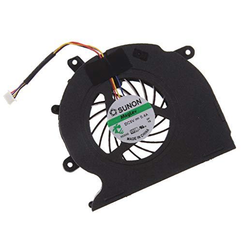 MagiDeal Ventilador de Refrigeración de CPU de Repuesto para EliteBook 8540p 8540w 595769-001