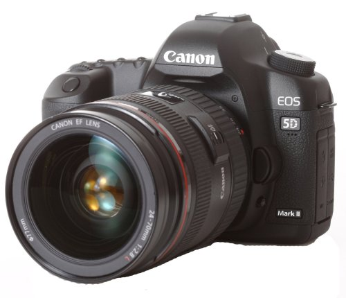 Canon EOS 5D Mark II SLR-Digitalkamera (21 MP, inkl. EF24-70mm / 1:2.8L USM Objektiv)