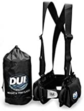 DUI Classic Weight Belt Harness for Drysuit Scuba Diving Dry Suit, Large