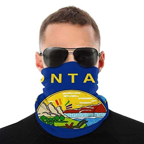 Bandeau, écharpe Bandana sans couture élastique Montana, série de chapeaux de sport de résistance aux UV pour Yoga randonnée équitation moto