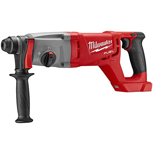 Buy Discount Milwaukee Electric Tool 2713-20 Milwaukee M18 Fuel 18V Lithium-Ion Brushless Cordless SDS Plus D-Handle Rotary Hammer, 1″, Bare Tool, Plastic, 17.63″ x 3.85″ x 6.61″