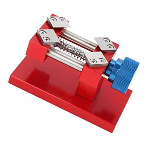 Harilla Soporte De Caja De Reloj Duradero Reloj Abridor Trasero Extractor Movimiento Fijación Del Dial - rojo