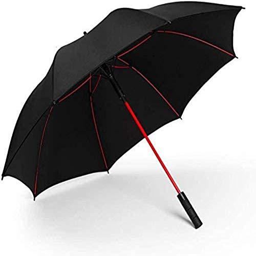 sombrilla Paraguas Portátil Paraguas Automático Grande Paraguas De Doble Capa Mejorado Resistente A La Intemperie Paraguas De Viaje Para Hombres Para 2 Personas Paraguas Automático Paragu(Color:Negro)