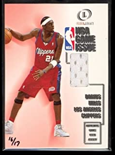 a64a8496b9a 2000-01 Fleer Legacy Basketball NBA Game Issue Darius Miles Game Used Jersey    16