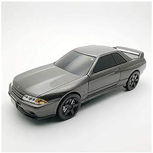 """車型モバイルバッテリー 日産 スカイライン GT-R R32 NISMO BNR32 グレー"""""""