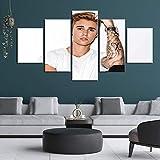 sanzx Moderne Leinwand Kunst Wandbilder für Wohnzimmer 5