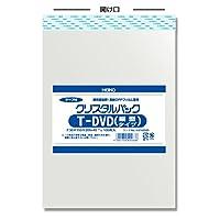 業務用 ヘイコー OPP袋 テープ付き クリスタルパック T DVD(縦型) 10000枚