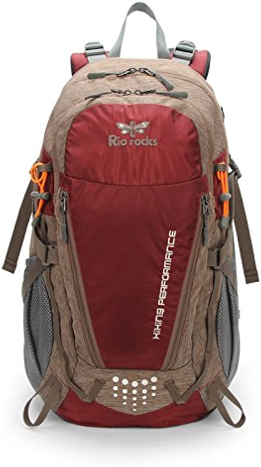 GWQGZ New Leisure Hiking Backpack Outdoor Camping Large Capacity Mountaineering Bag