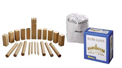 Philos 3314 - Kubb Game, Originalgröße, Buche, Wurf- und Geschicklichkeitsspiel