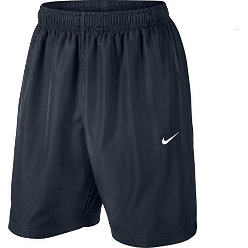 Nike Season 10 Inch Men's Athletic Shorts, Mehrfarbig (Obsidian Blau/Obsidian Blau/Weiß), S