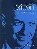ブリテン : オヴィディウスによる6つのメタモルフォーゼ Op.49/ブージー & ホークス社オーボエ楽譜