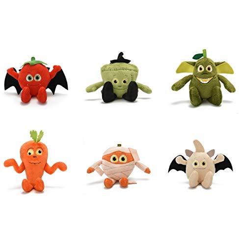 Misfits Plüschfiguren Zombie Obst Gemüse The 6 ´er Set