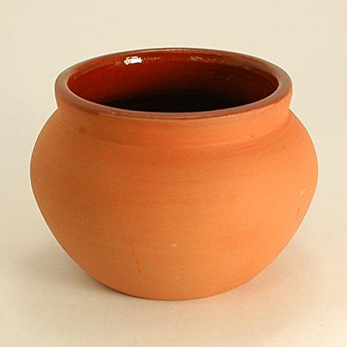 Ancient Cookware Indian Clay Biryani Pot, Medium
