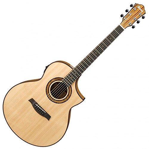 Ibanez aew23zw–NT Akustikgitarre electrificada