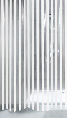 Kleine Wolke x Duschvorhang, 100prozent PEVA, Mehrfarbig, 180 cm x 200 cm