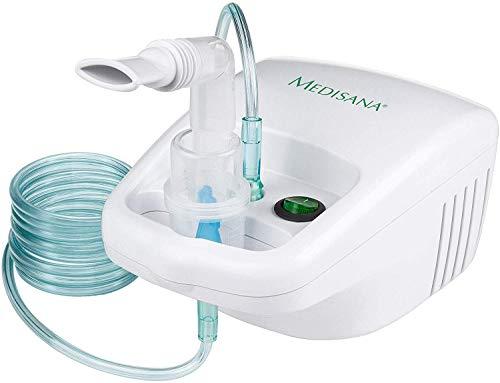 Medisana IN 500 Inhalator, Ultraschall Vernebler mit Mundstück und Maske für Erwachsene und Kinder, bei Erkältungen oder Asthma mit extra viel Zubehör und langem Schlauch