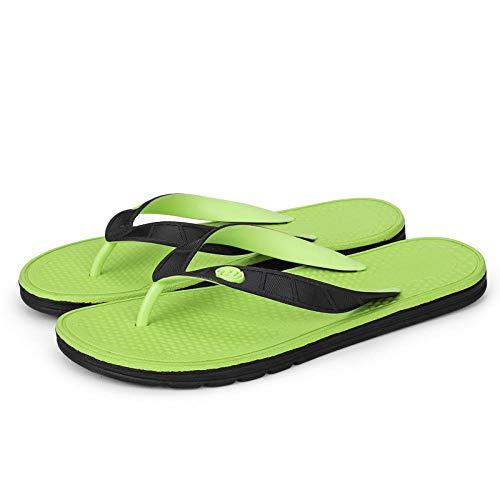 MedusaABCZeus Zapatos de Playa y Piscina,Sandalias de casa para Hombre al Aire Libre, Zapatos de Playa Casuales de Moda-Verde Oscuro_41,Sandalias Natural