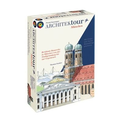 1020 - Prestel Kunstspiel: ARCHITEKtour München