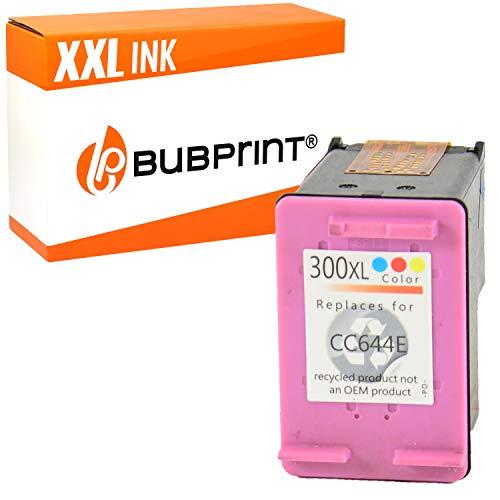Bubprint Druckerpatrone kompatibel für HP 300 XL 300XL für DeskJet D1660 D2560 D2660 D5560 F2420 F2480 F2492 F4210 F4224 F4280 F4580 Envy 110 114 120 PhotoSmart C4680 C4780 Dreifarbig