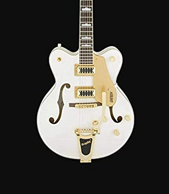 Gretsch Guitars G5422TG Electromatic Double Cutaway Hollowbody Electric Guitar Snow Crest White