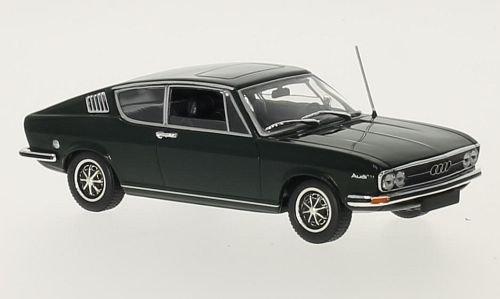 Audi 100 Coupe S, dunkelgrün, 1969, Modellauto, Fertigmodell, Minichamps 1:43