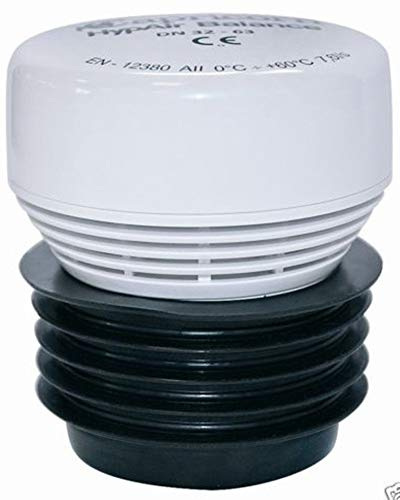 Hyp Air Balance Tube Aerator Ventilation Valve for Sanitary Facilities / Sewers 30-63 mm