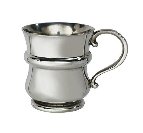 Wentworth Zinn–Distel geformte Quarter Pint Zinn Baby Tasse, Baby Geschenk, Andenken