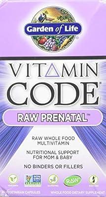 Garden of Life Vitamin Code Raw Prenatal (30 Vegetarian Capsules), 1 Units