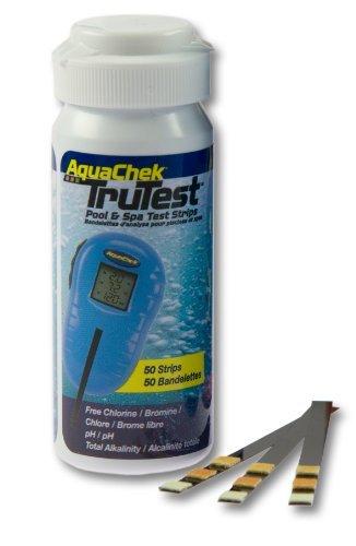 Interline AquaChek TruTest Lot de 50 bandes de test pH chlore pour testeur de Aquacheck TruTest Lot numérique 2606
