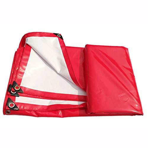 Tent met schaduwdoek, TXC-regenhoes, dubbele gebruiksspvc-overkapping, waterdicht zonnebrandmiddel, draagbaar, vrachtwagenschuiver, duurzaam