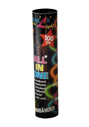 Classic Line 0612-108 - Knicklicht Leuchtarmbänder, 100er-Rolle inklusv Verbinder, bunt