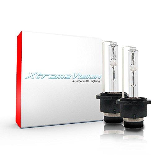 Xtremevision HID Xenon Replacement Bulbs - D4S / D4R / D4C - 10000K Dark Blue (1 Pair)