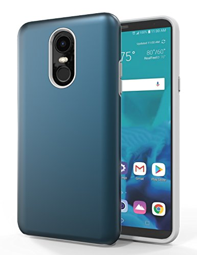 SENON Compatible with LG Stylo 4 Case,LG Stylo 4 Phone Case,LG Stylo 4 Plus Case, Shockproof Anti-Scratch Anti-Fingerprint Protective Case Cover for LG Stylo 4,Navy