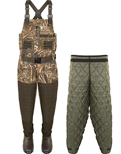Fantastic Deal! Drake Waterfowl Guardian Elite Breathable Chest Wader with Tear Away Insulated Liner...