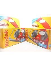 KODAK - Cámaras deshechables con Flash (39 exposiciones, 2 Unidades), Multicolor