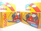 Appareil photo jetable Kodak Fun Flash - 39 poses, lot de 2